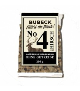 Bubeck Hirsch No. 4 ohne Getreide! 210g