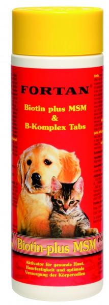 Biotin plus MSM Tabs